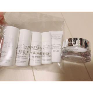 エステダム(Esthederm)の☆エステダム 化粧水&クレンジングミルク&クリーム セット(サンプル/トライアルキット)