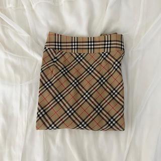 BURBERRY - burberry tight skirt