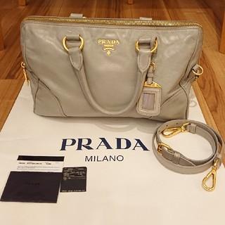 プラダ(PRADA)のあや様専用 週末限定価格PRADA プラダ 2way ボストンバッグ(ボストンバッグ)