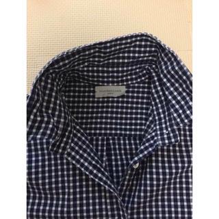 DEUXIEME CLASSE - 美品♡ Deuxieme Classe  襟ワイヤーチェックシャツ♡