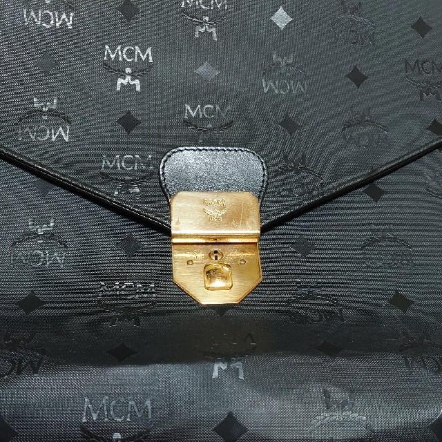 MCM(エムシーエム)の【お値下げ】MCM エムシーエム【希少】ハンドバッグ【ビジネスバッグ】 レディースのバッグ(ハンドバッグ)の商品写真