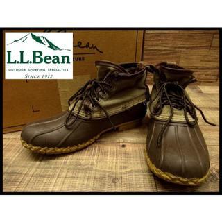 エルエルビーン(L.L.Bean)の廃盤 エルエルビーン シグネチャー キャンバス レザー 6インチ ビーン ブーツ(ブーツ)