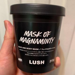 ラッシュ(LUSH)のLUSHスクラブ パワーマスク(パック/フェイスマスク)