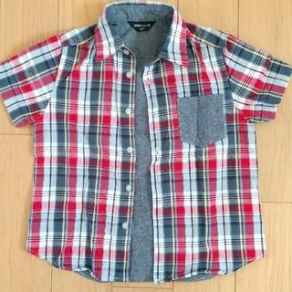 コムサイズム(COMME CA ISM)のジュニア用 コムサ半袖シャツ 120サイズ(Tシャツ/カットソー)