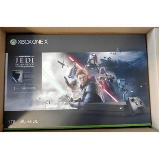 エックスボックス(Xbox)のXbox One X スター・ウォーズ ジェダイ 同梱版(家庭用ゲーム機本体)