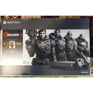 エックスボックス(Xbox)のXbox One X Microsoft GEARS 5 同梱版(家庭用ゲーム機本体)