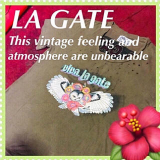 エルエーゲート(LA GATE)の❇️【LA GATE】ヴィンテージマニアの真骨頂☆‼️(Tシャツ/カットソー(半袖/袖なし))