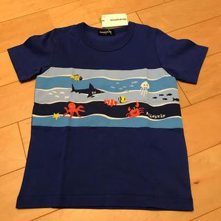 kladskap - クレードスコープ 新品 海 生き物 Tシャツ 110