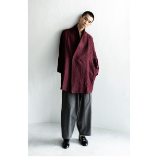 コモリ(COMOLI)の19s/s YANTOR LINEN COTTON WIDE PANTS(その他)