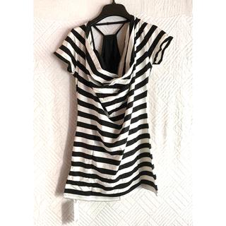 リップサービス(LIP SERVICE)のボーダーTカットソー(Tシャツ/カットソー(半袖/袖なし))