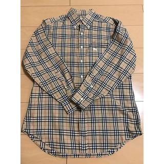 バーバリー(BURBERRY)のBURBERRY 90s ノバチェック ボタンダウンシャツ サイズ(M)(シャツ)