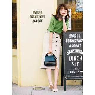GRL - グレイル ベルト付き スカート