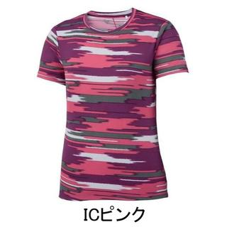 アシックス(asics)の【アシックス】 レディースTシャツ WSランニングプリントTシャツ サイズL(Tシャツ(半袖/袖なし))