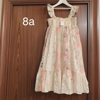 Bonpoint - ボンポワン 20SS パッチワークドレス 8a