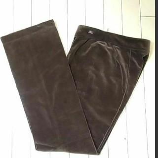 BURBERRY - ♥バーバリー ベルベット パンツ 茶色 スカート ワンピース ロング カーデ
