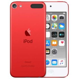アイポッドタッチ(iPod touch)の【新品】iPod touch 第7世代最新 32GB RED赤 MVHX2J/A(ポータブルプレーヤー)