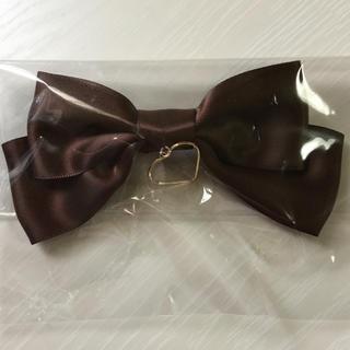アマベル(Amavel)のLOTUS ribbon ミニ リボン ヘアバレッタ(バレッタ/ヘアクリップ)