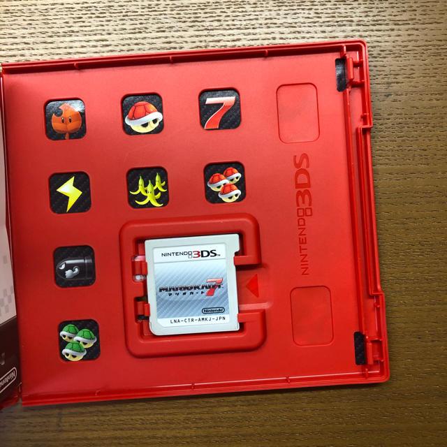 ニンテンドー3DS(ニンテンドー3DS)のマリオカート7 3DS エンタメ/ホビーのゲームソフト/ゲーム機本体(携帯用ゲームソフト)の商品写真