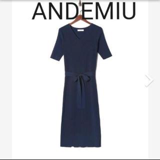 アンデミュウ(Andemiu)のandemiu ワンピース(ひざ丈ワンピース)