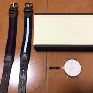 ダニエルウェリントン(Daniel Wellington)のダニエルウェリントン 時計+ベルト(腕時計)