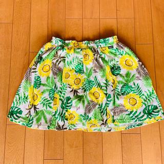 エフオーキッズ(F.O.KIDS)のALGY アルジー 花柄スカート(スカート)