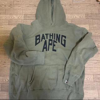 アベイシングエイプ(A BATHING APE)のアベイシングエイプのパーカー(パーカー)