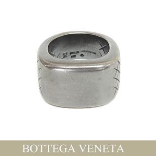 ボッテガヴェネタ(Bottega Veneta)の15 BOTTEGA VENETA シルバー イントレチャート リング(リング(指輪))