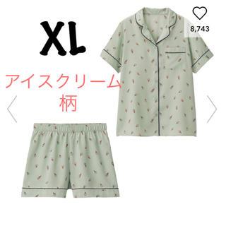 ジーユー(GU)の大型店限定 gu  新品 アイスクリーム パジャマ XL(キャラクターグッズ)
