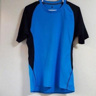 ジーユー(GU)のジーユーGU メッシュシャツ 半袖 Sサイズ(Tシャツ/カットソー)