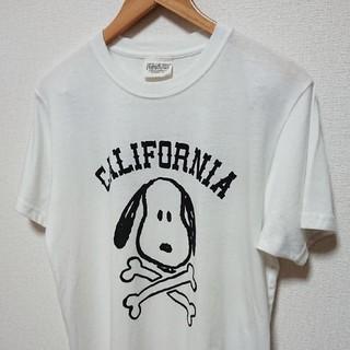 ピーナッツ(PEANUTS)の【peanuts×california  】ピーナッツ スヌーピーTシャツ(Tシャツ/カットソー(半袖/袖なし))