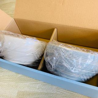 WEDGWOOD - ウェッジウッド 新品未使用品☆ ボール15cm ペアセット(クリーム&ブルー)