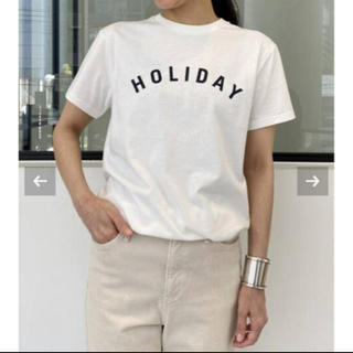 L'Appartement DEUXIEME CLASSE - 【新品未使用】L'Appartement【HOLIDAY】HOLIDAY Tee