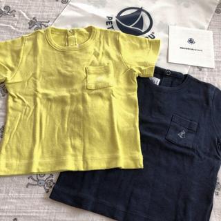 プチバトー(PETIT BATEAU)のプチバトー  12m Tシャツまとめ売り(Tシャツ)