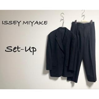 イッセイミヤケ(ISSEY MIYAKE)の古着 ISSEY MIYAKE イッセイミヤケ セットアップ ジャケット モード(セットアップ)