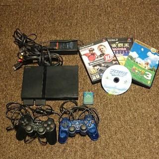 プレイステーション2(PlayStation2)のPlayStation2(ソフト付き)(家庭用ゲーム機本体)