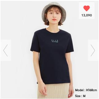 GU - ジーユー グラフィックT elle ELLE 半袖 Tシャツ エル GU 完売
