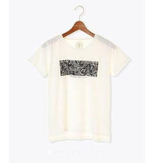 テチチ(Techichi)の値下げ。新品!テチチ ( Lugnoncure) ペイズリープリントTシャツ(Tシャツ(半袖/袖なし))