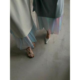 Ameri VINTAGE - AMERI【新品未開封】AURORA LAYERED DRESS ブルーM