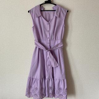 JILL by JILLSTUART - ジルバイほぼ新品*カットワークシャツドレス