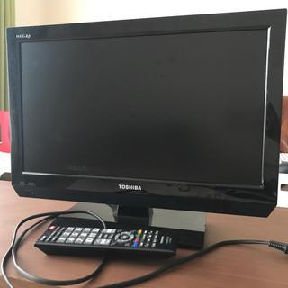 トウシバ(東芝)のTOSHIBA 19型 テレビ(テレビ)