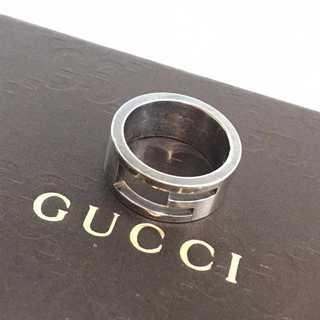 グッチ(Gucci)の❤決算セール❤ グッチ アクセサリー リング 指輪 シルバー レディース メンズ(リング(指輪))
