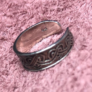 トゥリング シルバー925リング フリーサイズ ピンキー 足用 小指(リング(指輪))