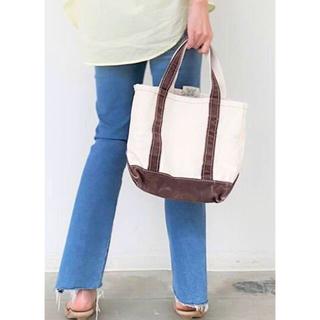 アパルトモンドゥーズィエムクラス(L'Appartement DEUXIEME CLASSE)の新品 アパルトモン L.L.Bean Canvas tote bag S(トートバッグ)