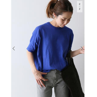 FRAMeWORK - 5/26まで!【新品タグ付】GASS COTTONプルオーバー ブルー