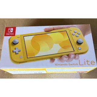 ニンテンドースイッチ(Nintendo Switch)のNintendo Swich Lite  yellow(携帯用ゲーム機本体)
