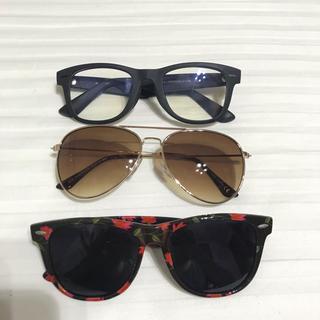 エイチアンドエム(H&M)のサングラス メガネ まとめ売り UNIQLO H&M 値下げ(サングラス/メガネ)