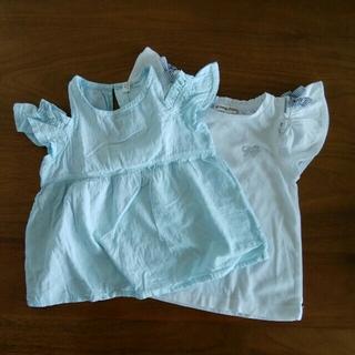 エニィファム(anyFAM)のオフショルダートップス 2枚セット(Tシャツ/カットソー)