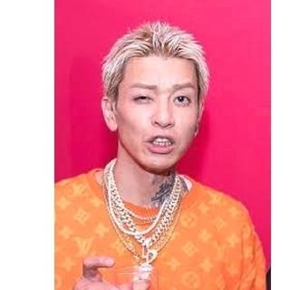 t-ace着用モデル☆ ゴールドジルコニアネックレス マイアミ キューバン