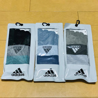 adidas - 新品★レディース★アディダス×福助★五本指★5本指ソックス★靴下★3足セット