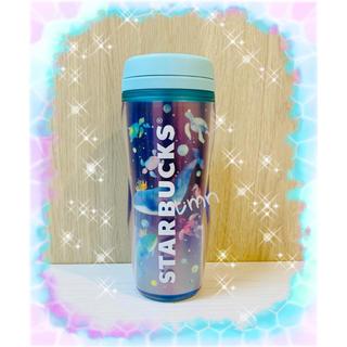 Starbucks Coffee - 大人気完売品❗️スターバックス☆ボトルホログラムくじら